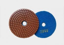 Almohadillas de pulido de hormigón de 5 pulgadas